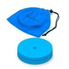 Marking discs ø 15,5 cm  Set of 12 blue