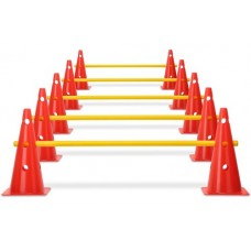 Cone hurdles set of 5 - hurdle system