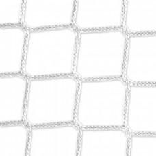 Goal net (white) - 5 x 2 m, 4 mm PP, 80 150 cm