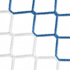 Goal net (blue-white) - 5 x 2 m, 4 mm PP, 80 150 cm
