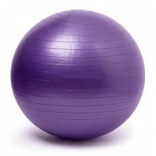 Gymnastics Ball Purple Size 65 cm
