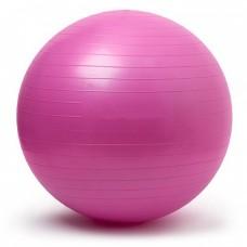 Gymnastics Ball Pink Size 65 cm