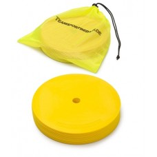Marking discs ø 21 cm Set of 12 yellow