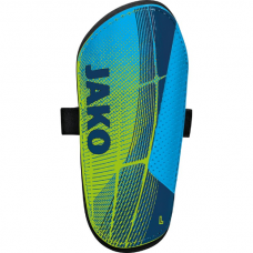 Jako Shin guard Competition Basic neon green-navy- blue