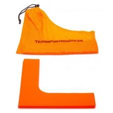 Marking corners 25 x 25 x 6 cm - Set of 4 pices Orange
