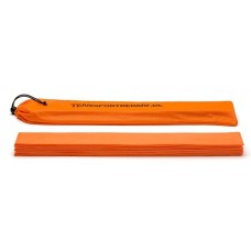 Marking strips 50 x 6 cm  Set of 12 pices Orange