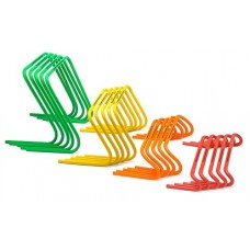 5 Mini hurdles - width 15 cm orange