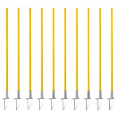 Slalom poles with hinge (1.20 m) – set of 10 pices