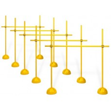 Set of 5 - Combined hurdles system - 120 cm