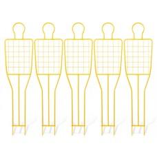 5 free kick training dummy (grid) - height: 180 cm