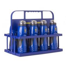 Bottle 2.0 - 750 ml (pro) set of 8 (incl. PVC bottle carrier)