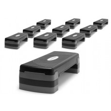 Fitness stepper - 3 levels - set of 10 pices