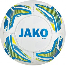 Jako Mini ball Striker white-JAKO blue-neon yellow