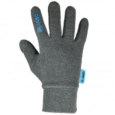 Jako Fleece gloves grey melange 40