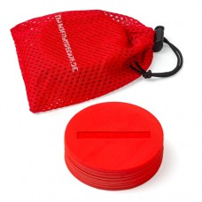 Marking Discs ø 8,5 cm (9 colours) – Set of 10 Red
