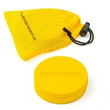 Marking Discs ø 8,5 cm (9 colours) – Set of 10 Yellow