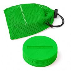 Marking Discs ø 8,5 cm (9 colours) – Set of 10 Green
