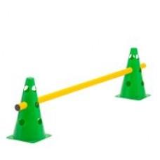 Cone Hurdle Single Hurdle Height 23 cm Green