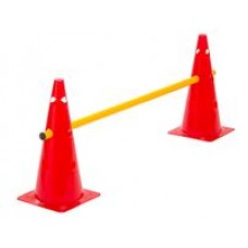 Cone Hurdle Single Hurdle Height 38 cm Red