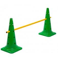 Cone Hurdle Single Hurdle Height 52 cm Green