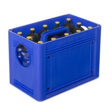 T-PRO BottleCarrier box for drinking bottles Blue