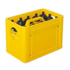 T-PRO BottleCarrier box for drinking bottles Yellow