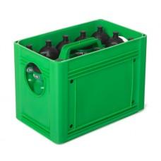 T-PRO BottleCarrier box for drinking bottles Green
