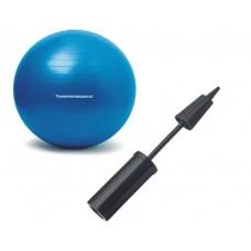 Hand pump for gymnastics balls