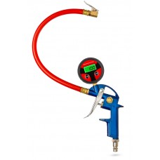 Compressed air pistol (digital) - air filler (0-12 bar)