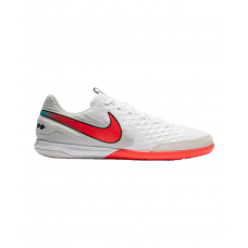 Nike Tiempo Legend VIII Flash Crimson Academy IC White 163