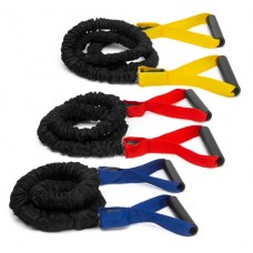 Power bungee cord 4 - for strengthening arms + upper body blue heavy