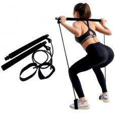Pilates bar (resistance band) - color: black