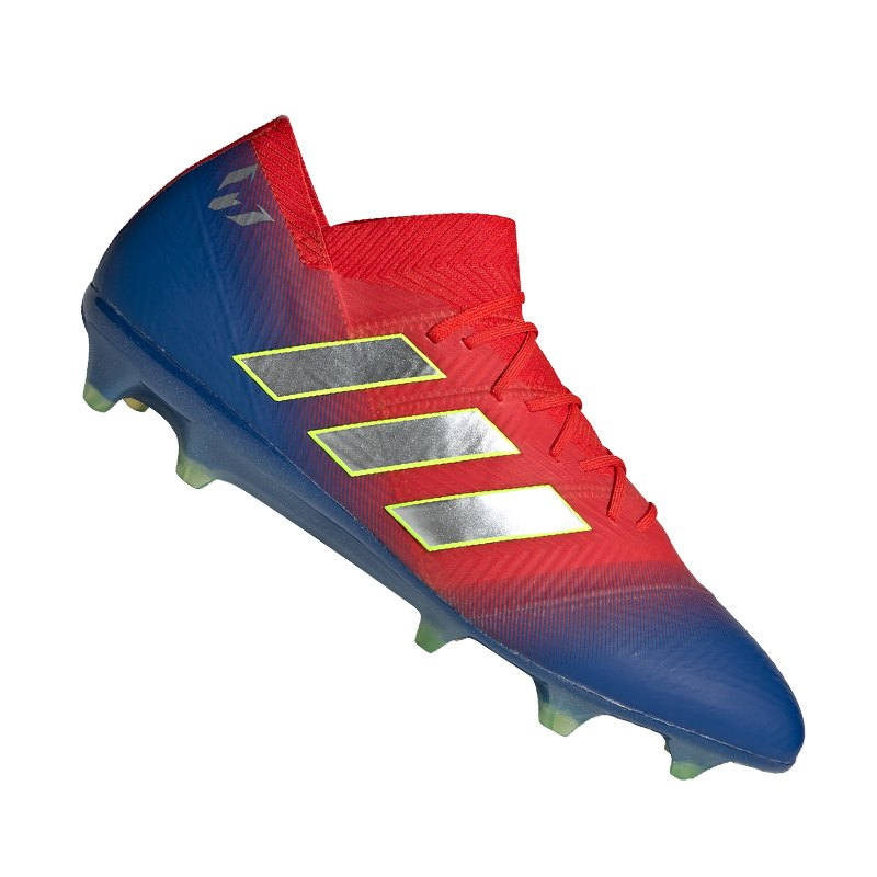 adidas fußballschuh nemeziz 18.1 fg dunkelrot dunkelblau